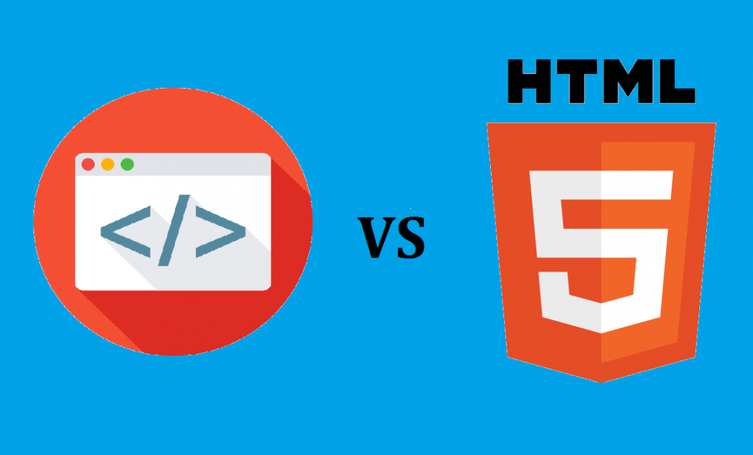 Difference between HTML and HTML 5
